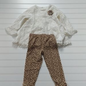 Nannette baby two piece outfit 2T